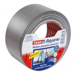 ADHESIF POWER TAPE GRIS 5CMX25M