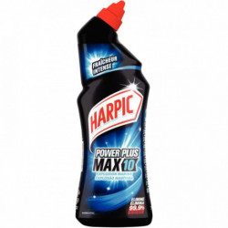 Harpic gel surpuissant désinfectant parfumant Powerplus explosion marine flacon