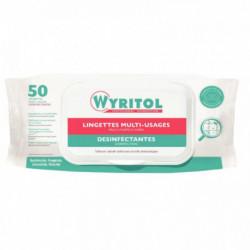 LINGETTES désinfectantes*PQT50* multi-usages à l'extrait d'essence de Niaouli W