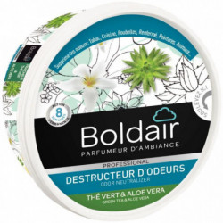 Boldair gel destructeur d'odeurs thé vert aloe vera 300 gr PV56013103