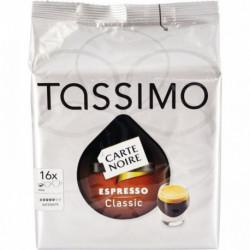 BOÎTE DE 16 T-DISCS EXPRESSO POUR MACHINE TASSIMO