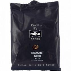 CAFE FILTRE DOSE POUR MACHINE MIKO DIAMANT NOIR 100% ARABICA **BTE36 DOSES**