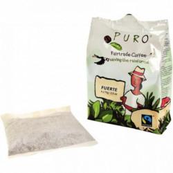 CAFE FILTRE DOSE POUR MACHINE PURO FUERTE 80% ARABICA 20% ROBUSTA 48 DOSES 5092