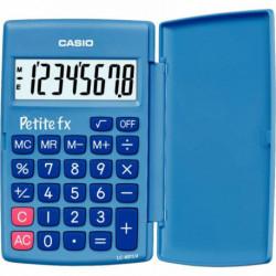 CALCULATRICE FX BLEUE 8 CHIFFRES 12X7X1,5 CM CASIO Petite FX bleue