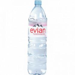 EAU PLATE EVIAN 1,5L PACK DE 12 8000582