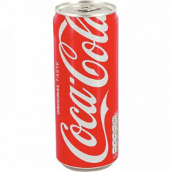 PACK DE 24 CANETTES 33CL COCA COLA SLIM