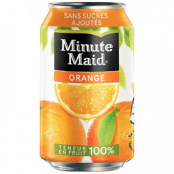 PAQUET  24 BOÎTES 33 CL  MINUTE MAID ORANGE
