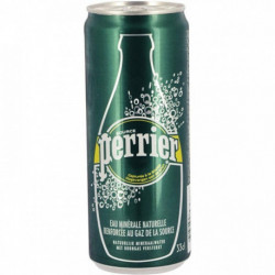 PAQUET 24 CANETTES 33CL PERRIER NATURE