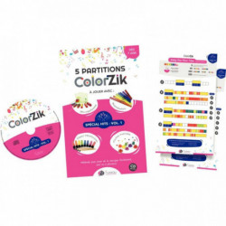 LIVRE CD COLORZIK CLOCHES, BOOMWHACKERS, METALLNOTES