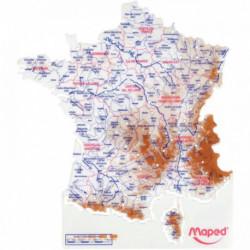 CARTE DE France MAPED