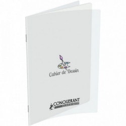 CAHIER PIQURE POLYPRO DESSIN 17x22 32 PAGES UNIES 90 G HAMELIN 400002786