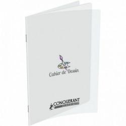 CAHIER PIQURE POLYPRO DESSIN 24x32 48 PAGES UNIES 120 G HAMELIN 400002788