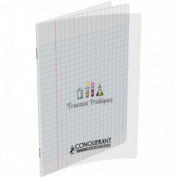 CAHIER PIQURE POLYPRO TP 17x22 64 PAGES UNIES&SEYES 90 G 400002790