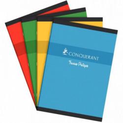 CAHIER TP PIQURE 21x29,7 70+90G 96 PAGES SEYES+UNI CONQUERA 100104079