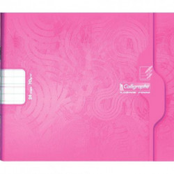 CAHIER MATER. PIQURE 17x14,7 70G 24 PAGES DL3MMIV ITALIENNE CALLIGRA 7703C
