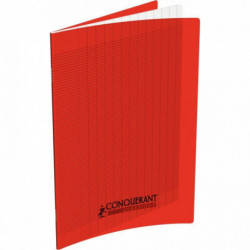 CAHIER POLYPRO ROUGE MATERN 17x22 90G 32P SEYES 2,5MM HAMELIN 400002781