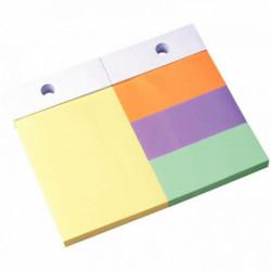 RECH. 100X150 NOTES REPOS. 4 TICKETS PASTEL RPR22 FSC