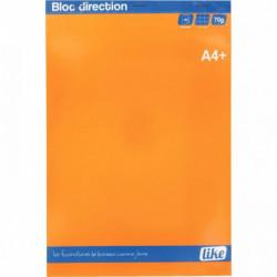 BLOC DE DIRECTION A4+ 80 FEUILLES MICRO PERFORÉES DÉTACHABLES