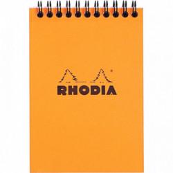 BLOC RHODIA A6 SPIRALE 5x5 13500C