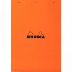 BLOC RHODIA N°19   5x5  80G 21x31,8  A4+ *FAB FRANCE* RHODIA 19200C