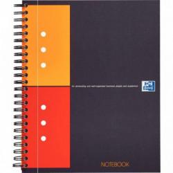 CAHIER NOTEBOOK A5+ 80G 160P 5x5 SPIRALE OXFORD 100101849