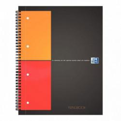 FILING BOOK QUADRILLÉ 5x5 A4+ 80G 200 PAGES PERFORÉES REF35-12-04 OXFORD 1001007