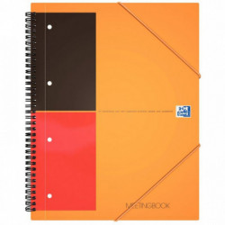 MEETING BOOK LIGNE 100104296 CAHIER + CHEMISE A RABATS + ELASTIQUES OXFORD 10010