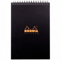 NOTEPAD RHODIACTIVE 90G REL INTEG A5 14,8x21 160 PAGES 5x5 MICROPERF.  16920C