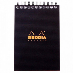 NOTEPAD RHODIACTIVE 90G REL INTEG A6 10,5x14,8 160 PAGES 5x5 MICROPERF.  13920C