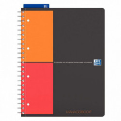 ORGANISER MANAGERBOOK A4+ 160 PAGES 80G OXFORD 400010756