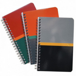 CARNET 110x170 180 PAGES 70 G SPIRALE   100104445 CONQUERA 100104445