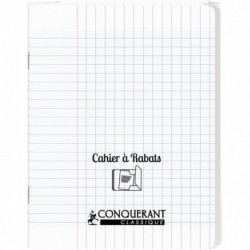 CAHIER A RABAT POLYPRO 17x22 48P 90G SEYES INCOLOR