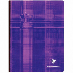 CAHIER CLAIREFONTAINE BROCH 17x22 192 PAGES 5X5 90G 9742C