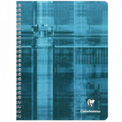 CAHIER CLAIREFONTAINE REL INTEG 17x22 180 PAGES SEYES 90G 68761C
