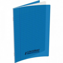 CAHIER POLYPRO BLEU 17x22 90G 48 PAGES SEYES CONQUERA 100100955