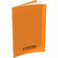 CAHIER POLYPRO ORANGE 17x22 90G 32 PAGES SEYES 100105462