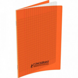 CAHIER POLYPRO ORANGE 17x22 90G 60 PAGES SEYES 100105474