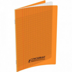 CAHIER POLYPRO ORANGE 17x22 90G 96 PAGES SEYES 100105476