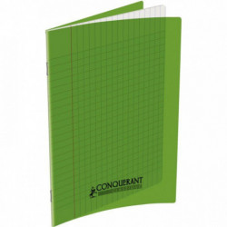 CAHIER POLYPRO VERT 17x22 90G 32 PAGES SEYES 100100963