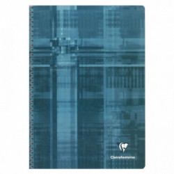 CAHIER CLAIREFONTAINE SPIRAL 90G 21X297 A4 180 PAGES 90g 5X5 68162C