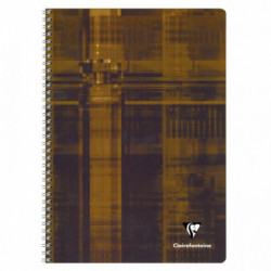 CAHIER CLAIREFONTAINE SPIRALE 21X297 A4 100 PAGES 5X5 90G 68142C