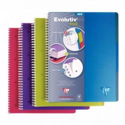CAHIER EVOLUTIV'BOOK A4+ Q55 240P COUV PP SPIRALE 329155C