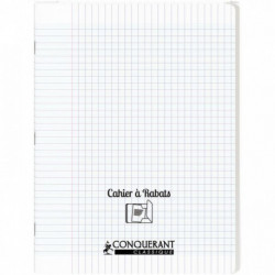 CAHIER A RABAT POLYPRO 24X32 96P 90G SEYES INCOLORE
