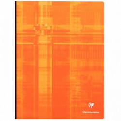CAHIER CLAIREFONTAINE BROCH 24x32 192 PAGES SEYES 90G  69341C