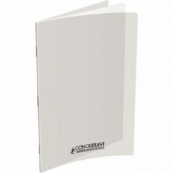 CAHIER CONQUERANT POLYPRO INCOLORE 24x32 90G 96 PAGES UNI OXFORD 100101311