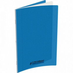 CAHIER POLYPRO BLEU 24x32 90G 96 PAGES SEYES CONQUERA 100103501