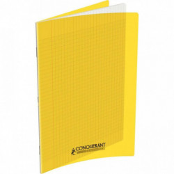 CAHIER POLYPRO JAUNE 24x32 90G 48 PAGES SEYES CONQUERA 400006761