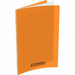 CAHIER POLYPRO ORANGE 24x32 90G 48 PAGES SEYES 400067935