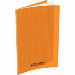 CAHIER POLYPRO ORANGE 24x32 90G 96 PAGES SEYES CONQUERA 100105480