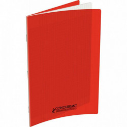 CAHIER POLYPRO ROUGE 24x32 90G 96 PAGES SEYES CONQUERA 100104919